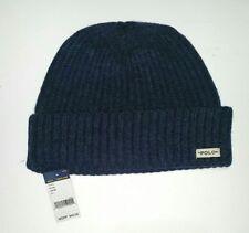 BNWT Donegal Merino Wool Hat, Indigo