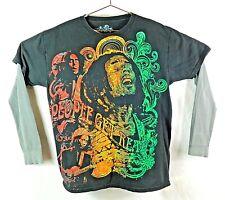 Rock Icons Bob Marley Men's Long Sleeve T Shirt, Size: Large (42/44)