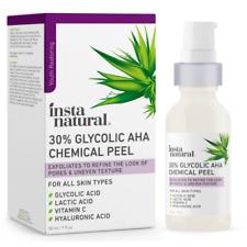 Glycolic Acid 30% AHA Chemical Peel Blackhead Dark Spot Acne Scar Removal Treat