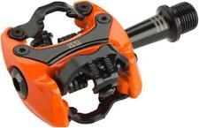 iSSi Flash III Pedals - Dual Sided Clipless Aluminum 9/16 Orange