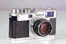 Classic Premium Nikon Rangefinder S3 Original + Nippon Kogaku Nikkor-H F2 50