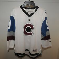 NHL REEBOK #9 Colorado Avalanche Hockey Jersey New Youth L/XL $70