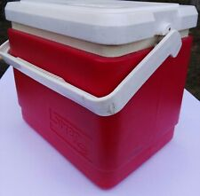 Vintage Willow Sixer retro cooler esky in red