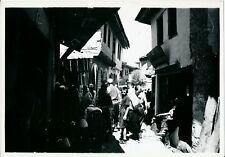 ALBANIE 1938 - Une Rue dans une Ville - NV 4536