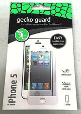 Gecko Guard GG700206 1x Matte Bubble-Free Screen Protector for iPhone 5/5S