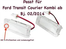 2x TOP LED SMD Kennzeichenbeleuchtung Ford Transit Courier Kombi ab 02/14 /KS1/