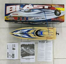 Vintage Traxxas Blast Rc Speed Boat - As-Is! Untested! No Remote Or Battery