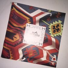 Authentic Hermes Carre H Fall Winter 2002 Scarf Catalogue Booklet Kilim English
