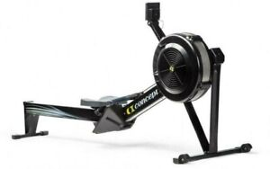 Black Concept2 Model D Indoor Rowing Machine with PM5 Performance Monitor