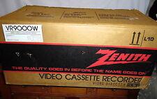 Vintage ZenithVR9000W Betamax Beta Video Director In Original Box