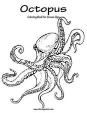 Octopus Coloring Book for Grown-Ups 1 by Nick Snels (English) Paperback Book