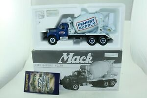 First Gear Inc No 19-2750 Pennsy Supply Mack B-Model Cement Mixer - Boxed