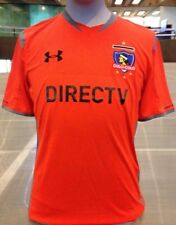 NWT Under Armour Club Social Y Deportivo Colo Colo Soccer Jersey L Fitted Chile