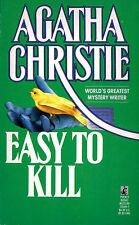 Agatha Christie - Easy to kill (edizione inglese)