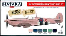 Hataka Hobby Paints RAF PHOTO RECONNAISSANCE UNITS 1940-1945 Acrylic Paint Set