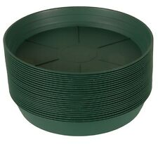 "Custom Listing For HydroFarm Premium GREEN Round Pot Saucers 12"", 10"", 8"" Combo"