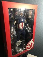 Hot Toys MMS174 The Avengers 1/6 Captain America Chris Evans Statue