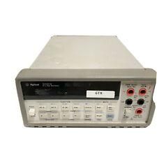Agilent 34401A 6.5 Digit Digital Multimeter with Handle Working Free Shipping