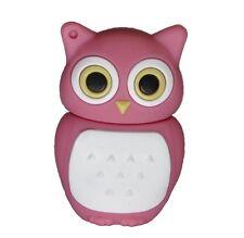 8 GB USB Speicher Stick Speicherstick Flash Drive Eule Owl Pink Rosa Weiß