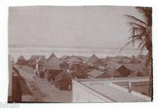 C503 Photo vintage originale snapshot Afrique maison village case nègre Légion