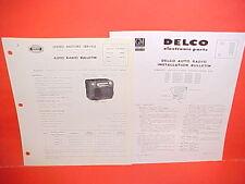 1948 PONTIAC TORPEDO STREAMLINER UNITED MOTORS DELCO GM RADIO SERVICE MANUAL 3