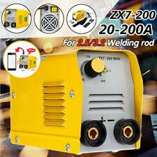 110v Mini Electric Welding Machine 20 200a Igbt Dc Inverter Arc Mma Stick Welder