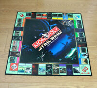 Monopoly Star Wars Classic Trilogy Edition 1997 Game Board Replacement