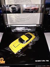 Minichamps 1/43 Iso Grifo 7 Litri 1968 yellow