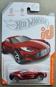 "2020 Hot Wheels ID Chase Aston Martin One-77 ""N"" Case"