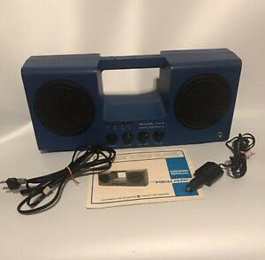 Vintage Realistic PORTiPLAY 14-918 - 8 Track Player Boombox + Manual