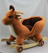 Kids Childrens Deer Animal Rocker Rocking Toddler Infant Baby Toy Gift