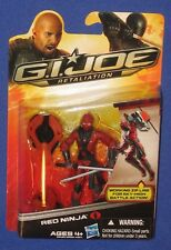 "GI Joe Red Ninja 4"" Action Figure MOC 2012 Retaliation Cobra Hasbro Arashikage"