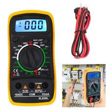 Digital Voltmeter Ammeter Ohmmeter Multimeter Volt AC DC Tester Meter LCD US