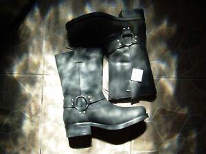Livergy cowboy biker Western boots