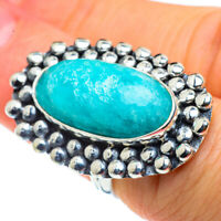 Large Larimar 925 Sterling Silver Ring Size 6 Ana Co Jewelry R43393F
