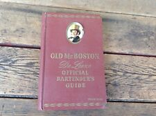 Old Mr Boston Deluxe Official Bartender's Guide - 1947 Hardcover