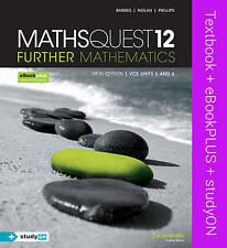 Maths Quest 12 Further Mathematics & Ebookplus by Anthony Novak, Geoff Phillips…