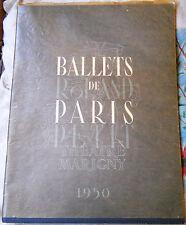 BALLETS DE PARIS ROLAND PETIT by Le Theatre Marigny / 1950 / 1st Edition