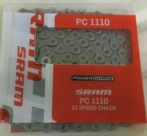 SRAM PC-1110 PowerChain 11 Speed Road Bike Chain PC1110