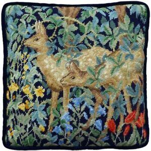 Greenery Deer Cushion Panel Tapestry Kit