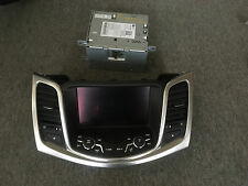 HOLDEN VF CALAIS CD PLAYER WITH GPS PART NUMBERS 92287187, 92272721