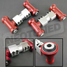 For Nissan 300ZX Z32 1990-96 Red Adjustable Front Upper Camber Arm Alignment Kit