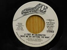 A Foot In Cold Water DJ 45 Anything You Want stereo / mono - Elektra VG to VG+