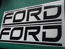 FORD panel skirt  decal..on 12 year vinyl.. x2