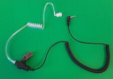 Schallschlauch Security Headset Kopfhörer 3.5 mm Klinkenstecker