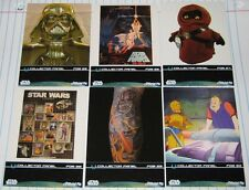 Star Wars Fan Days III Set of 6 Trading Cards from Collector Panels 2009