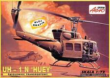 BELL UH 1 N HUEY  (U.S. ARMY GULF WAR/DESERT STORM MARKINGS)#13  1/72 AEROPLAST