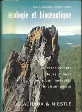 Ecologie et Biocénotique, êtres vivants, Milieux, Environnement, Molinier