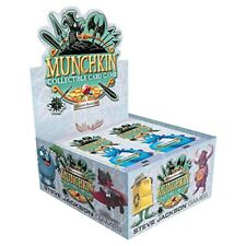 Booster Box 24 Pack Munchkin Collectible Card Game SJG4501-D CCG Sealed Season 1