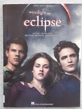 Music Twilight Saga Eclipse 17 Songs Voice Piano Guitar Unmarked